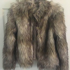 FashionNova faux fur jacket